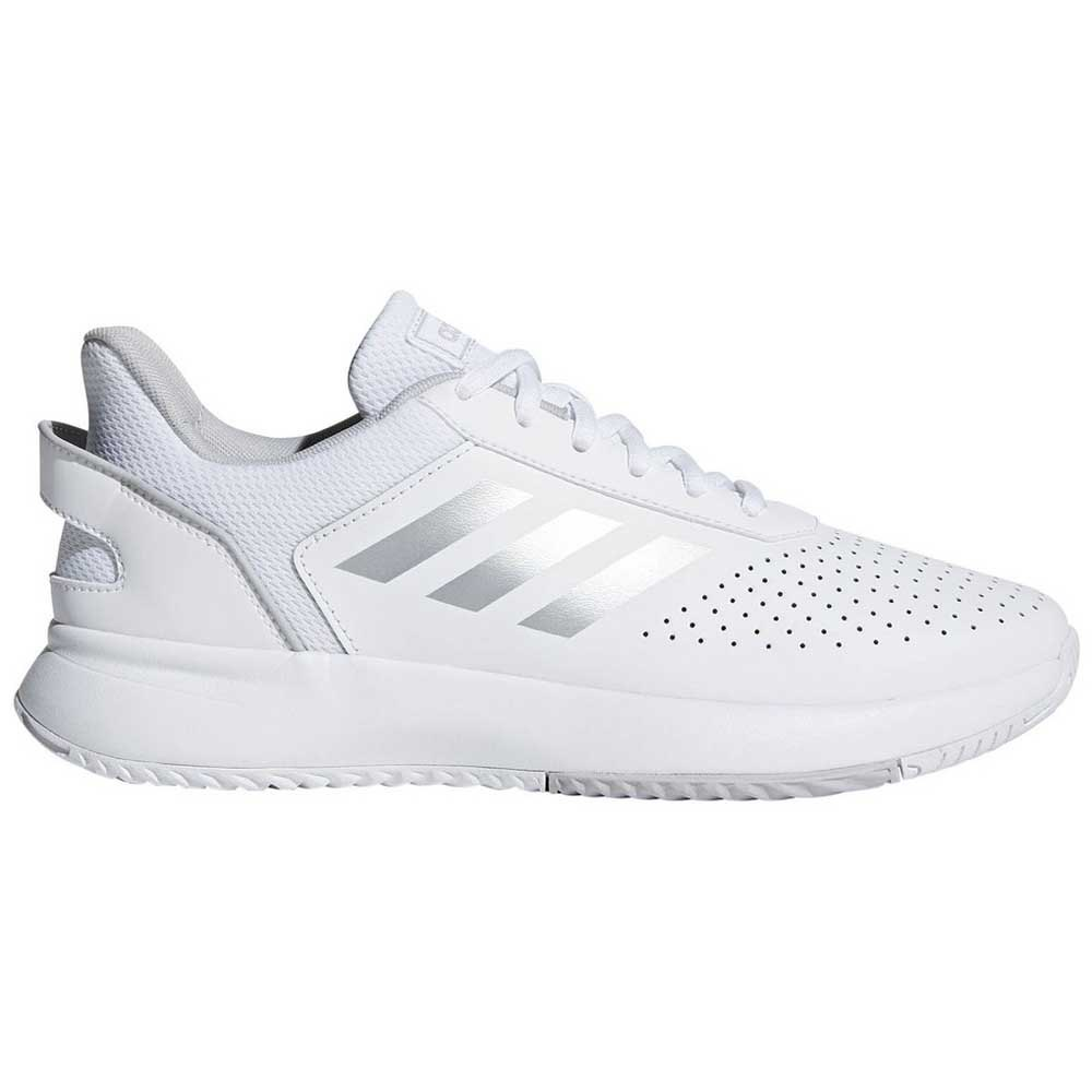 Adidas Court Smash EU 39 1/3 Ftwr White / Metal Silver / Grey Two