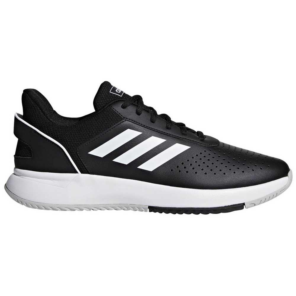 Adidas Court Smash Clay EU 39 1/3 Core Black / Ftwr White / Grey Two