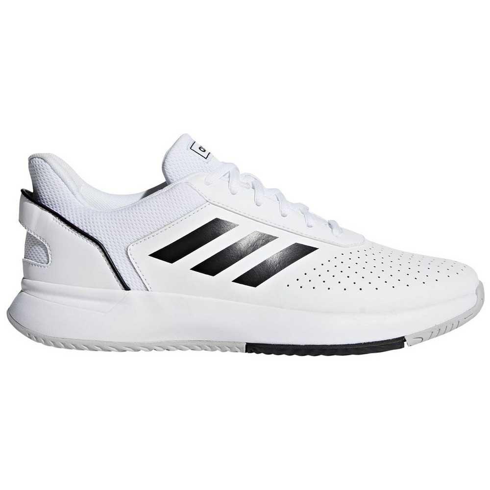Adidas Court Smash EU 44 2/3 Ftwr White / Core Black / Grey Two