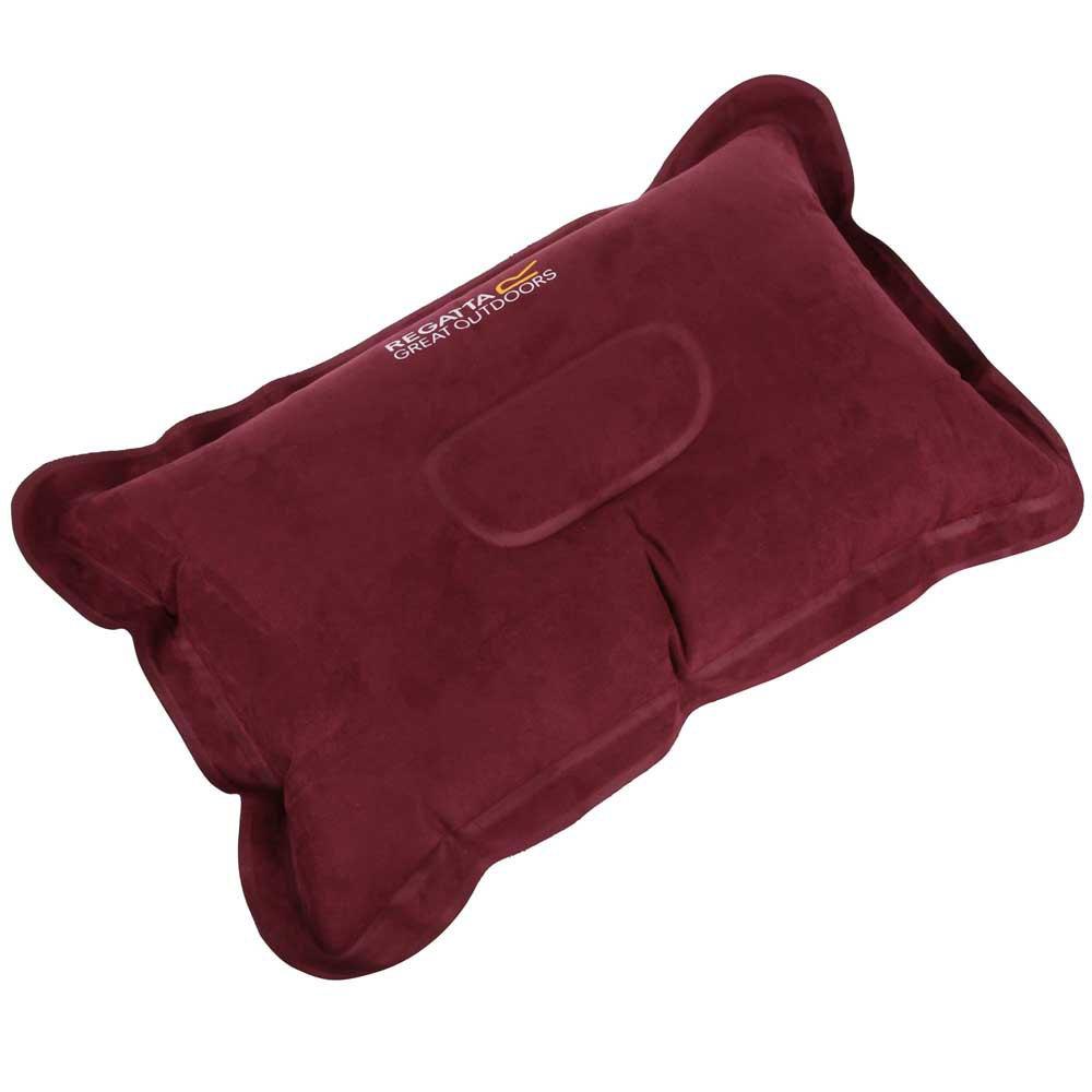 Regatta Inflatable Pillow One Size Burgundy