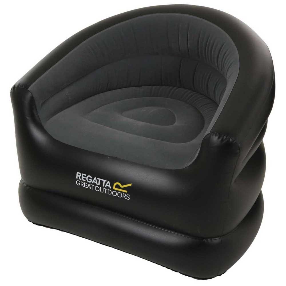 Regatta Viento Inflatable One Size Black / Ebony