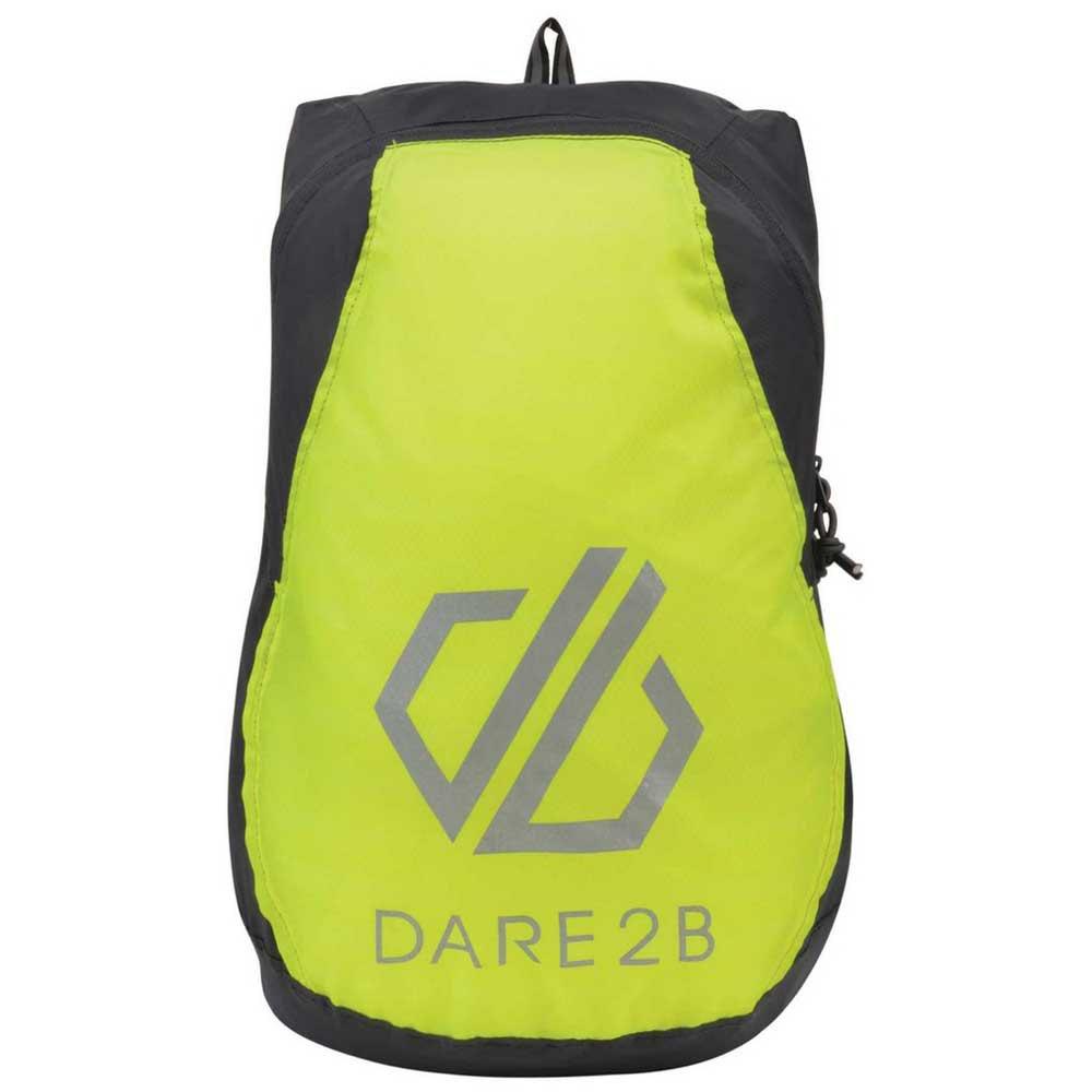 Dare2b Silicone Iii 13l One Size Ebony / Fluro Yellow