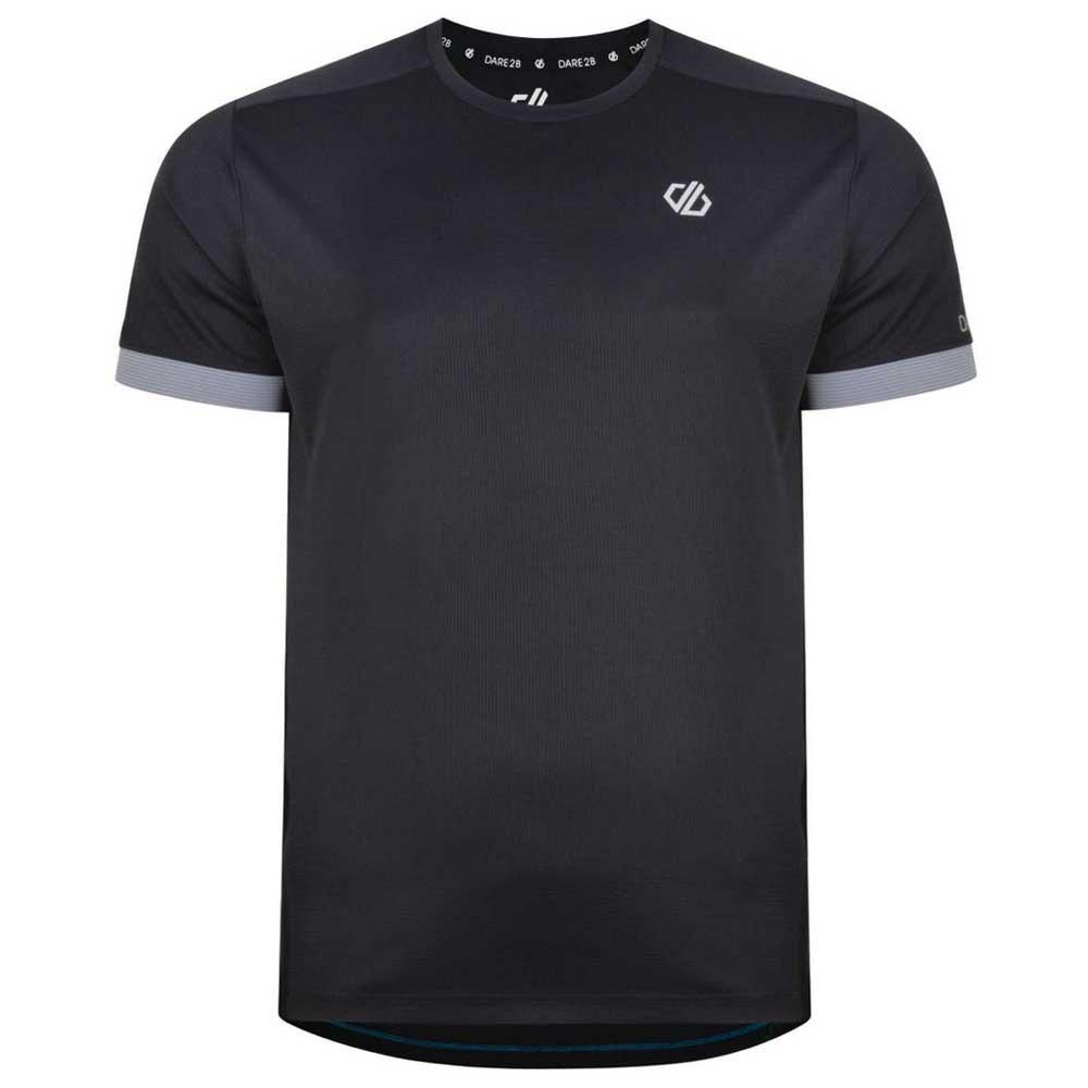 Dare2b T-shirt Manche Courte Unifier XXXL Black / Gravity Grey