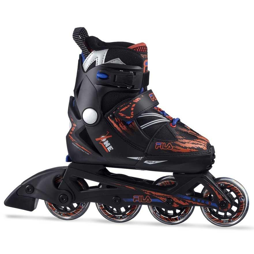 Fila Skate X-one X-one X-one 19 Schwarz  Rollschuhe Fila skate  extremsport  Stadtsport 7610e9