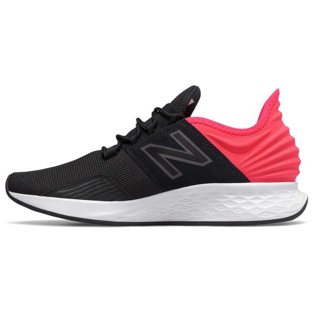 Détails sur New Balance Fresh Foam Roav Rouge|Noir T03721 Chaussures running Homme