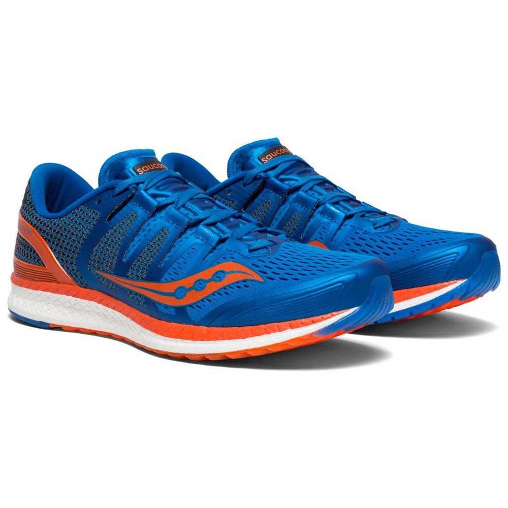 saucony Liberty ISO Zapatillas running Mujer azul | Campz.es