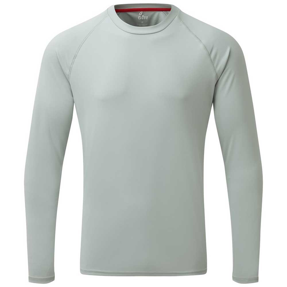 Gill Uv Tec Grau , T-Shirts Gill , angelsport , Herrenkleidung