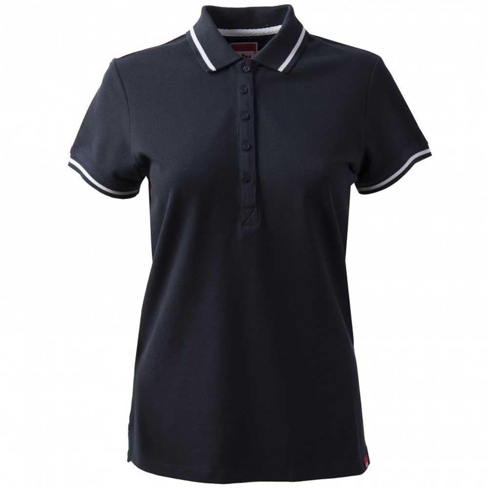 Gill Crew Short Sleeve Polo Shirt 8 Navy