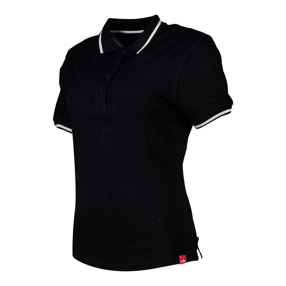 Gill Crew Short Sleeve Polo Shirt 8 Black