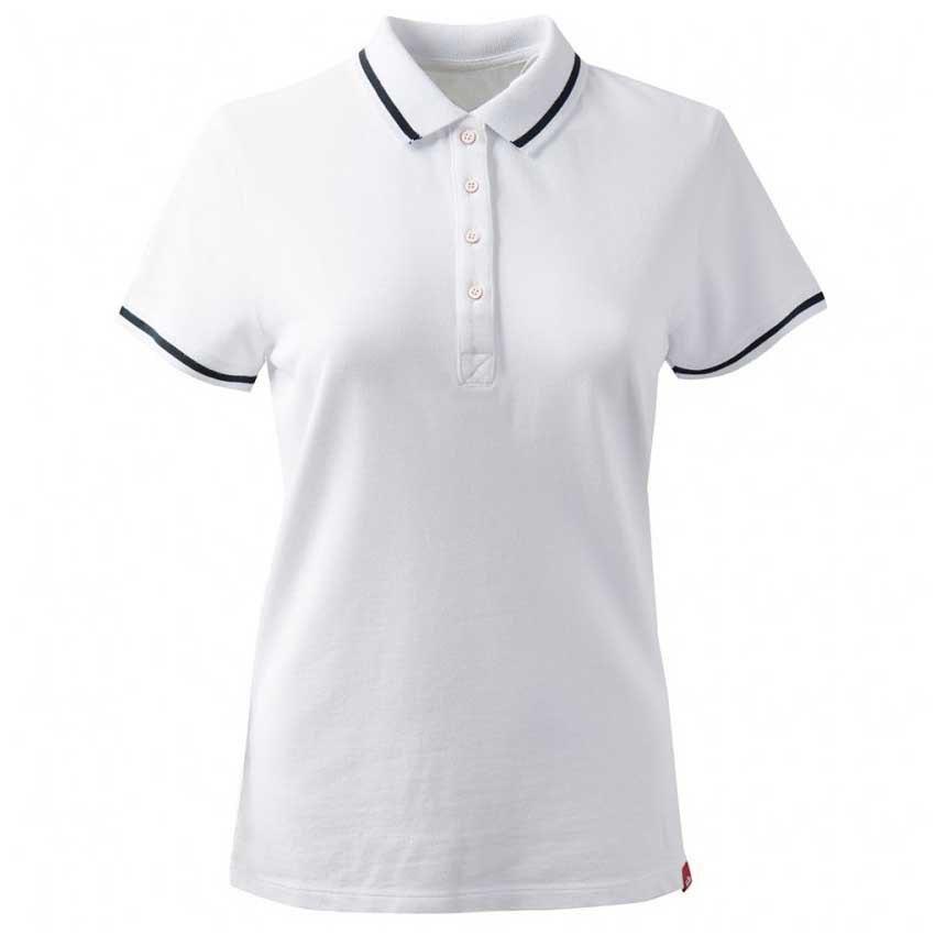 Gill Crew Short Sleeve Polo Shirt 6 White
