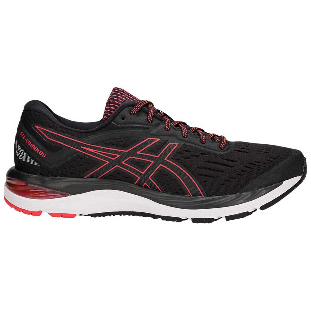 Asics Gel Cumulus 20 EU 44 1/2 Black / Red Alert
