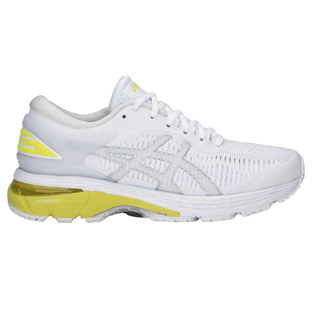 Asics Gel Kayano 25 EU 42 White / Lemon Spark