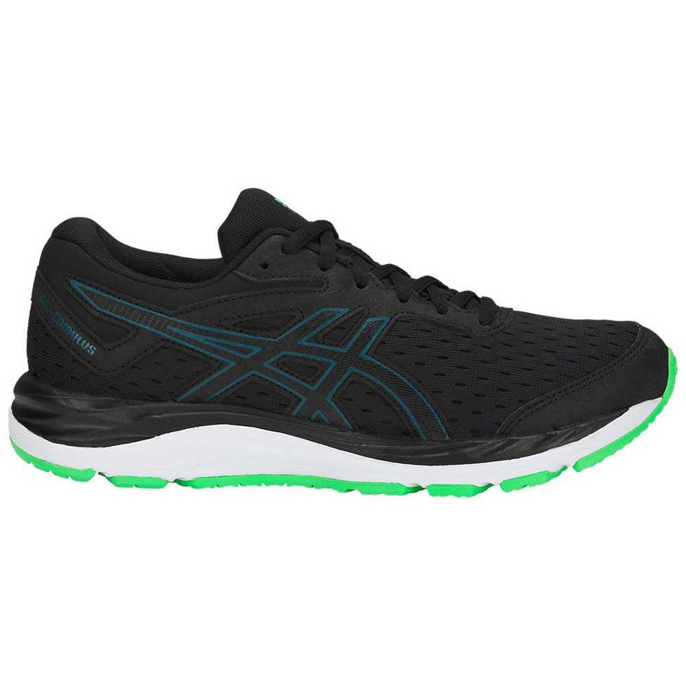 Asics Gel Cumulus 20 Grade School EU 35 1/2 Black / Beryl Green