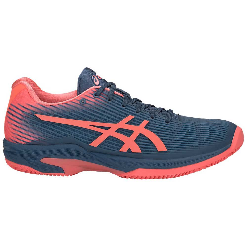Asics Solution Speed Ff Clay EU 35 1/2 Grand Shark / Papaya