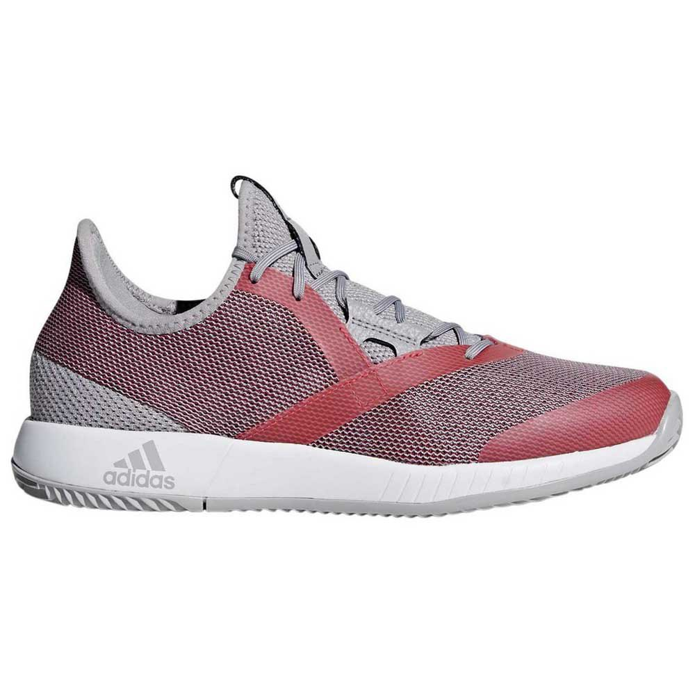 Adidas Adizero Defiant Bounce EU 38 Light Granite / Shock Red / Ftwr White