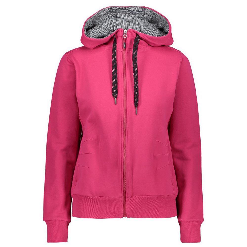 Cmp Jacket Fix Hood M Granita