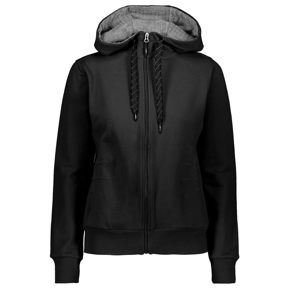 Cmp Jacket Fix Hood S Black / Black