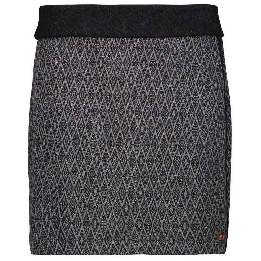 cmp-woman-skirt-xxl-black-smoke
