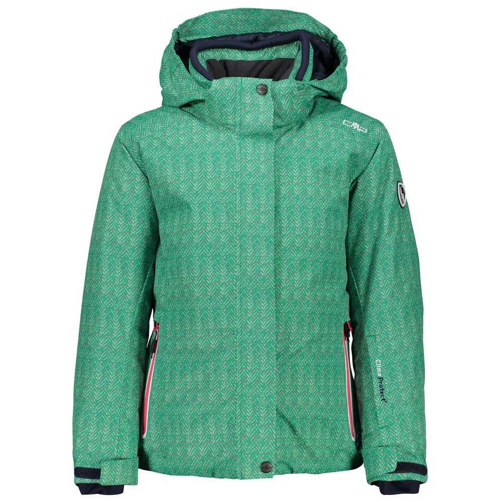 cmp-girl-jacket-snaps-hood-12-years-emerald-icemint
