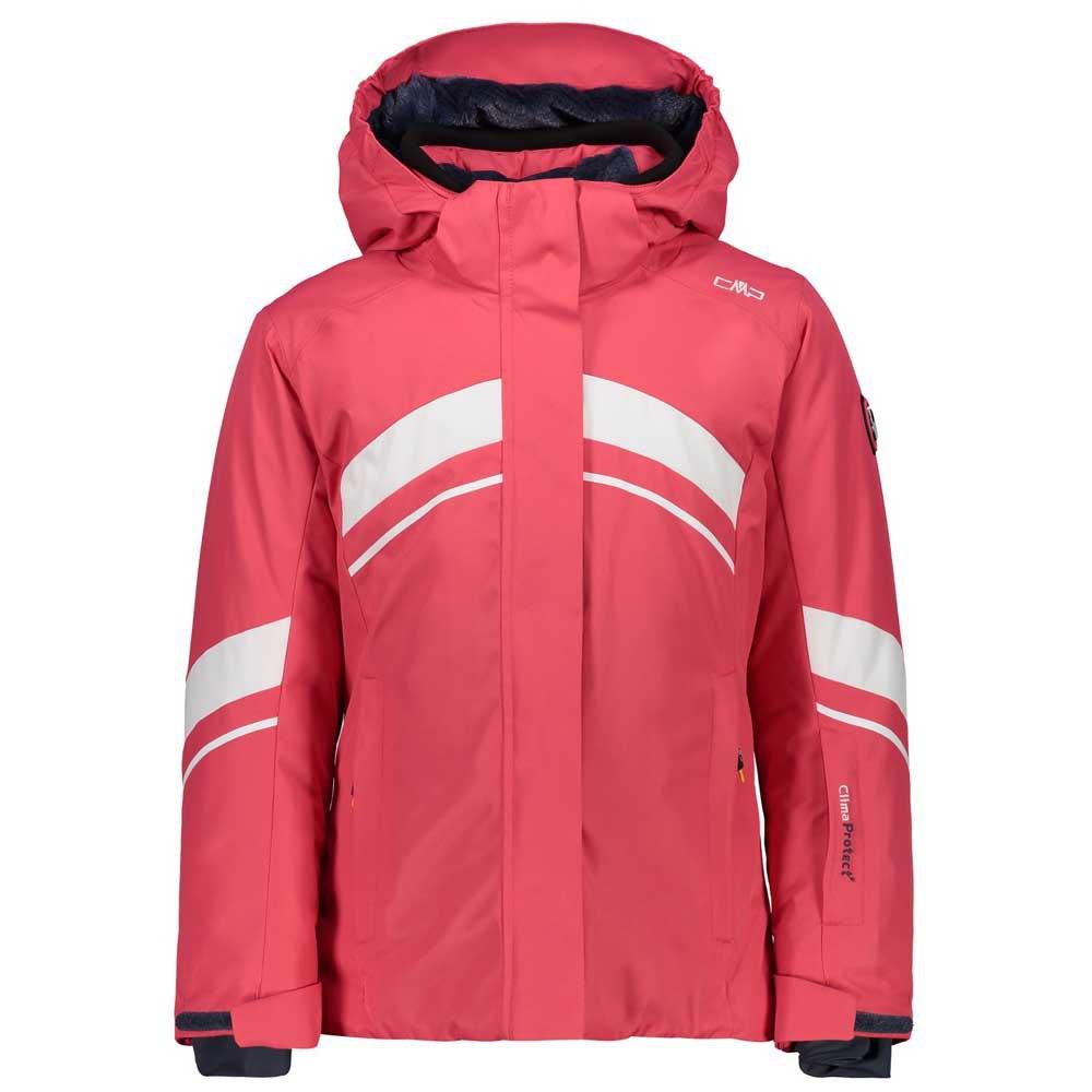 cmp-girl-jacket-snaps-hood-12-years-coral