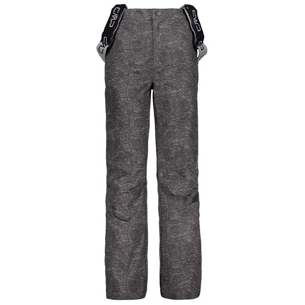 cmp-kid-salopette-8-years-grey-melange