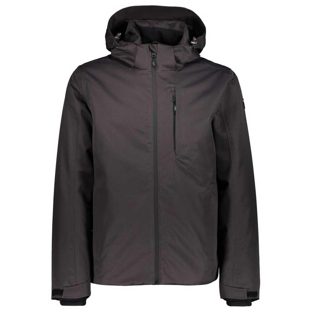 Cmp Mid Zip Hood Jacket XXL Anthracite