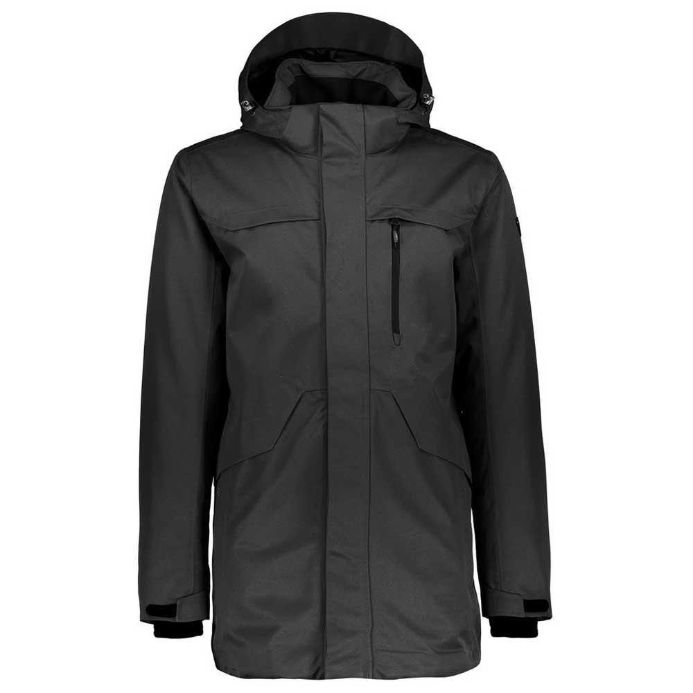 Cmp Parka Zip Hood Jacket XXL Anthracite