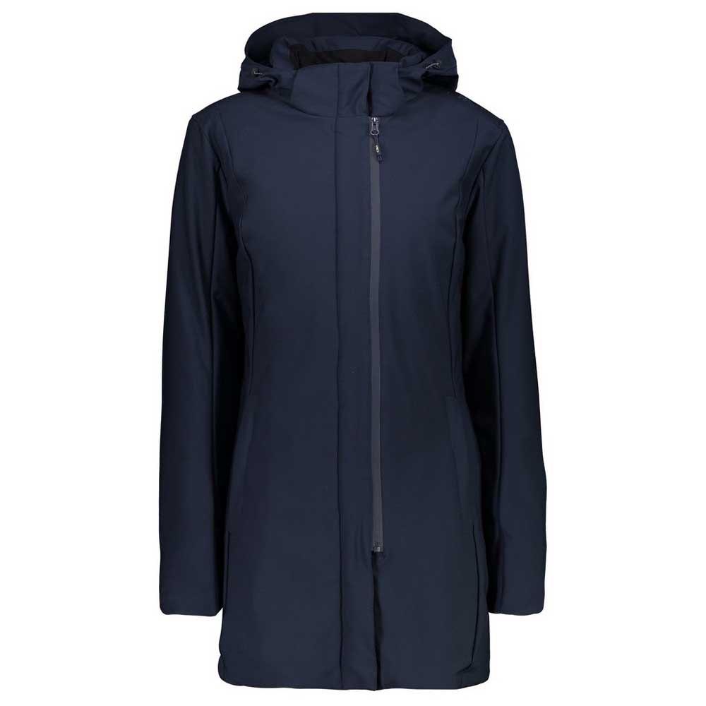 Cmp Parka Jacket S Black Blue