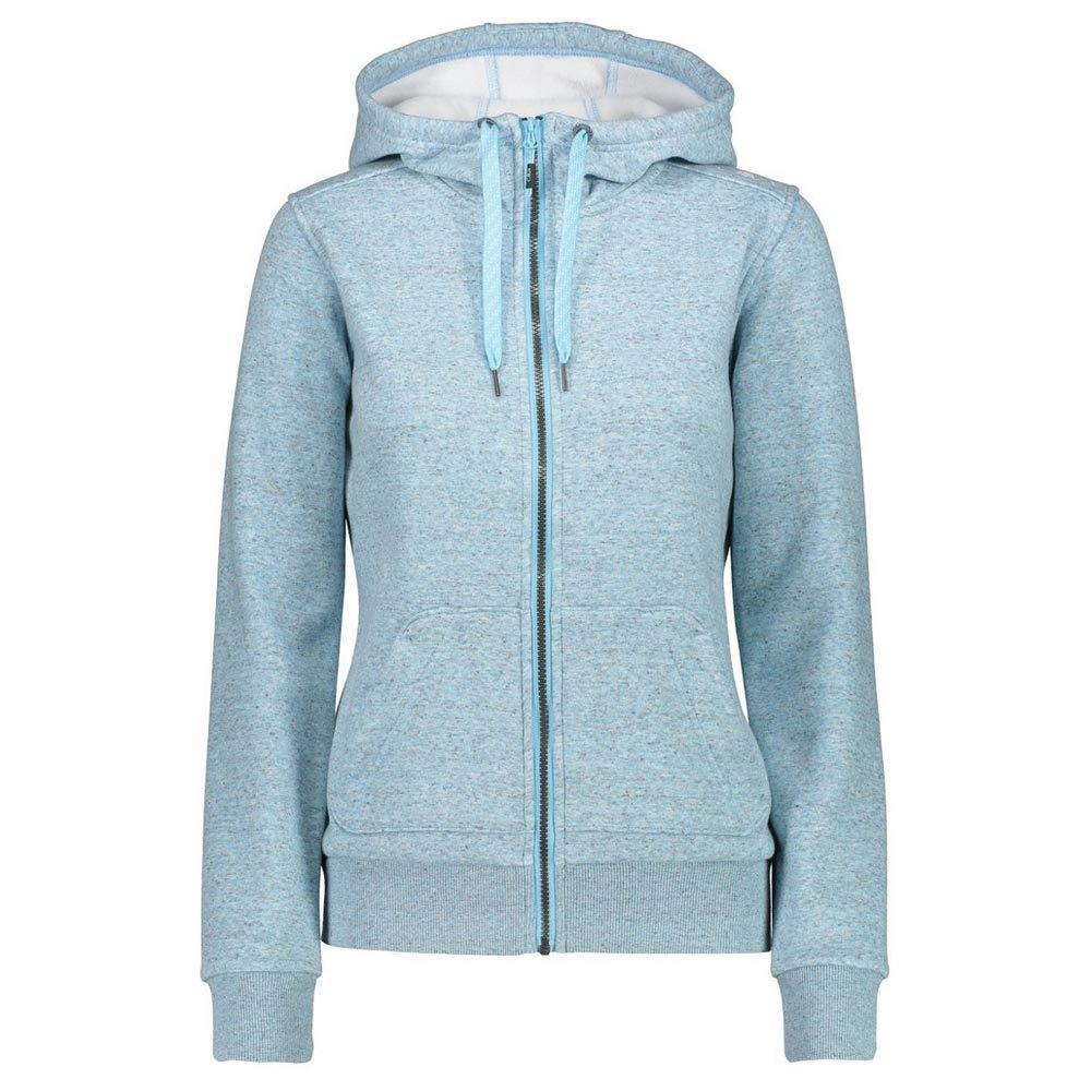 Cmp Woman Fix Hood Jacket XS Sky Light Melange