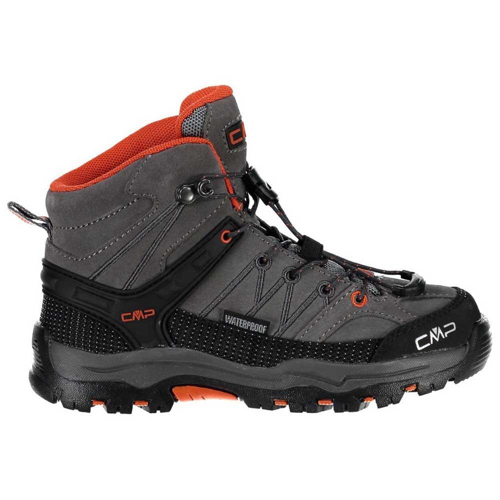 Cmp Rigel Mid Trekking Shoes Wp EU 28 Stone / Orange