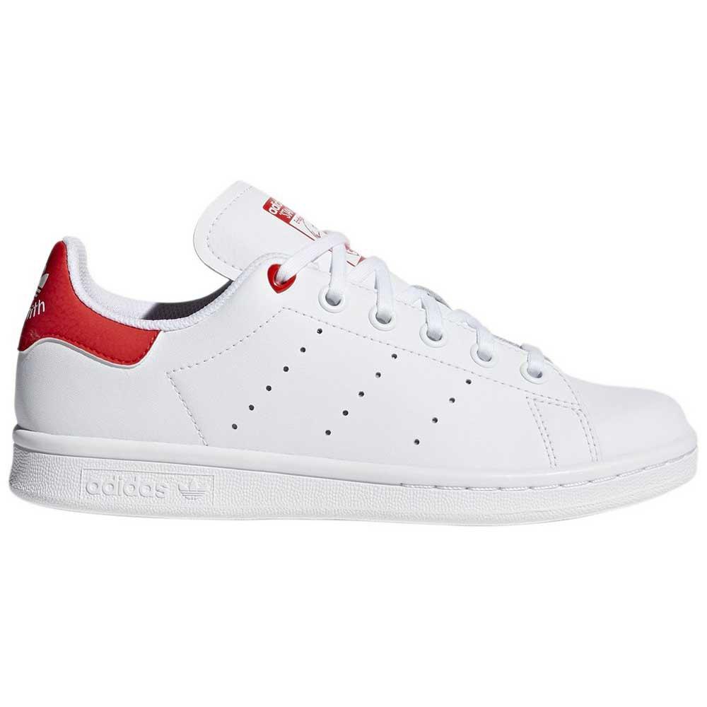 7ee2062bb2b26 Adidas Originals Stan Smith Junior Bianco