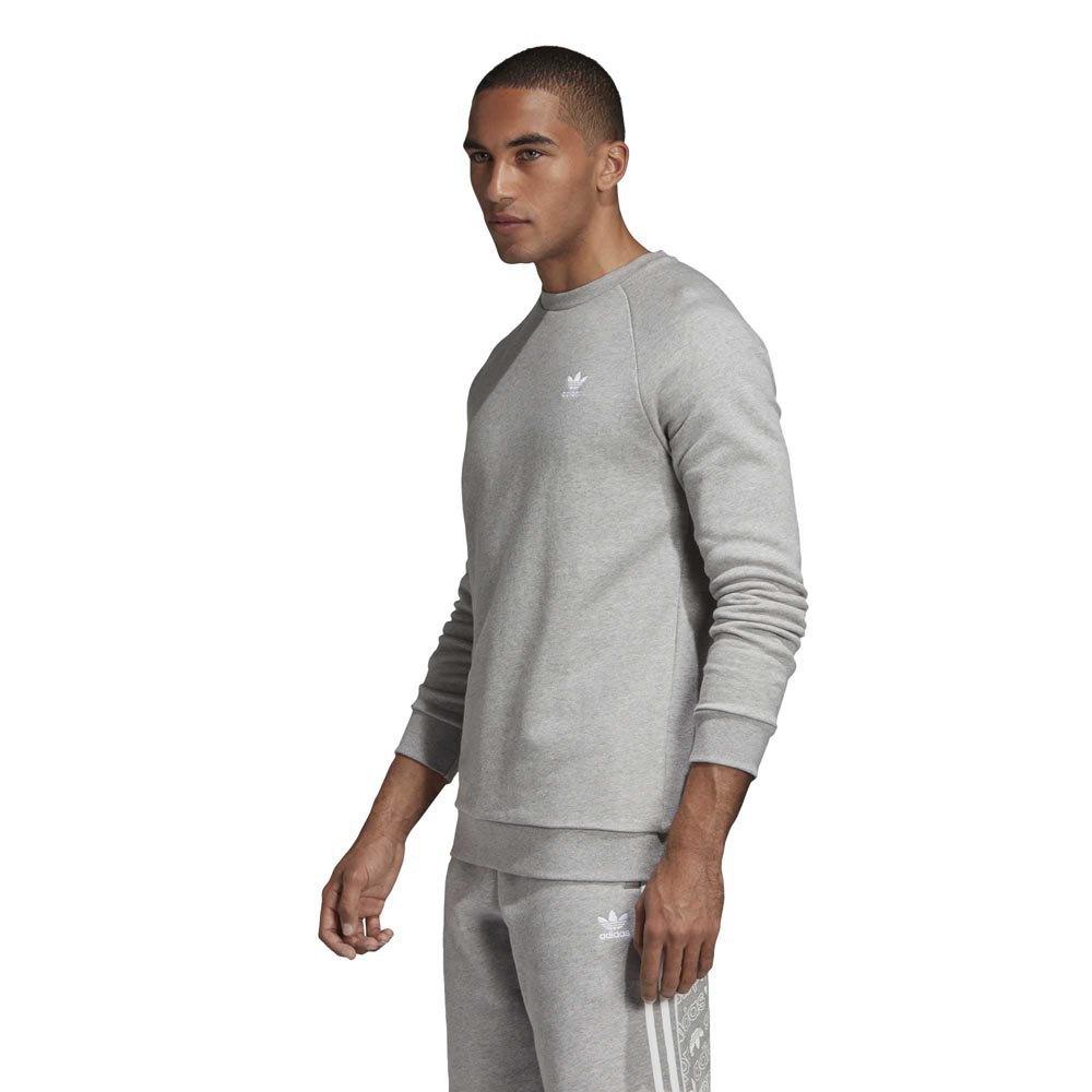 a91ea2e386 Adidas Originals Essential Crew Grau T36428/ Pullover Mann Grau ...