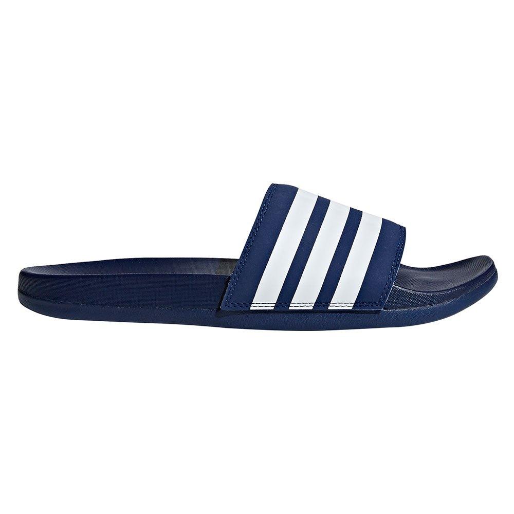 Adidas Adilette Comfort EU 39 1/3 Dark Blue / Ftwr White / Dark Blue