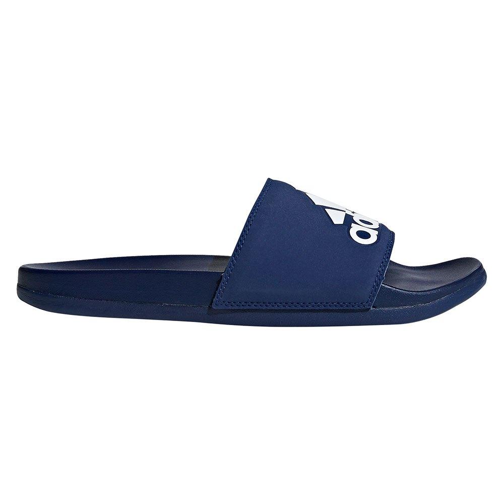 Adidas Adilette Comfort EU 39 1/3 Dark Blue / Ftwr White