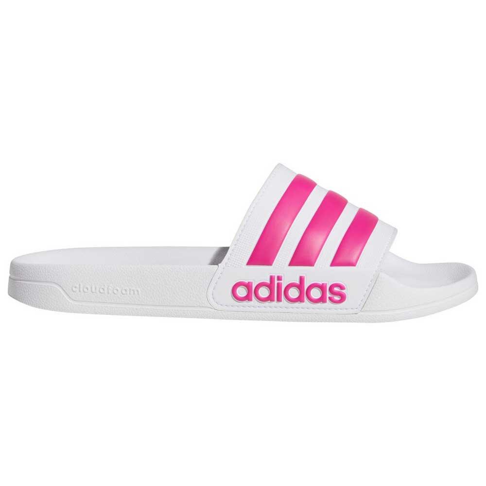 Adidas Adilette Shower EU 39 1/3 Ftwr White / Shock Pink