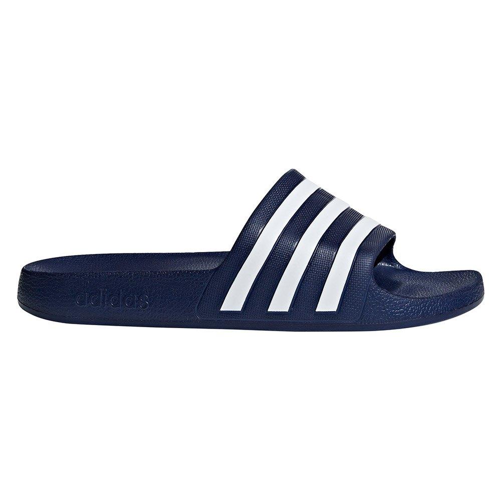 Adidas Adilette Aqua EU 39 1/3 Dark Blue / Ftwr White