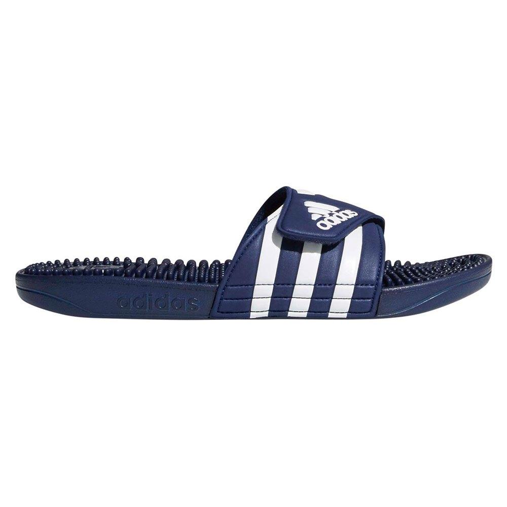 Adidas Adissage EU 39 1/3 Dark Blue / Ftwr White