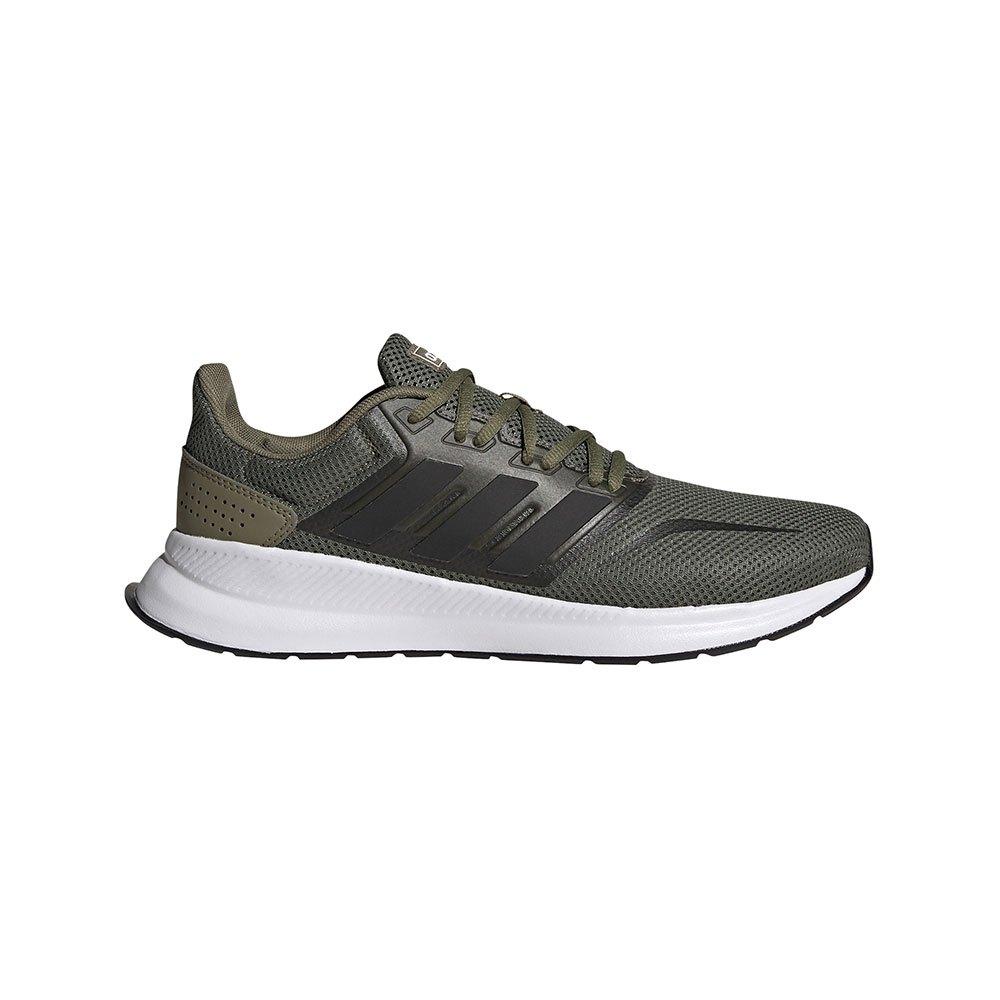 Adidas Runfalcon EU 41 1/3 Raw Khaki / Core Black / Ftwr White