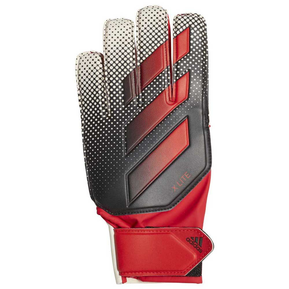 Adidas X Lite Goalkeeper Gloves 10 Active Red / White / Black