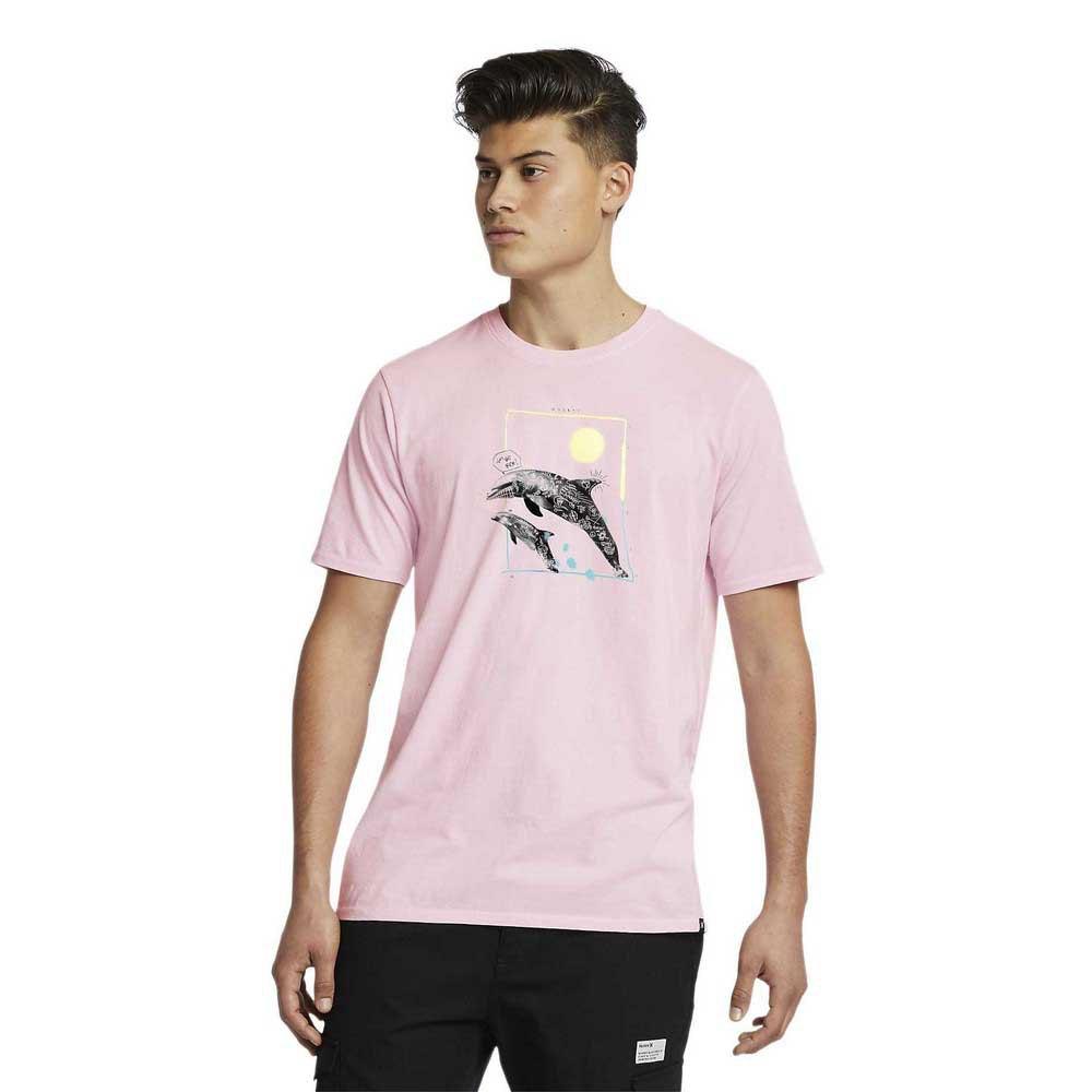Hurley Bnz Dolphin Punks XL Pink Gaze