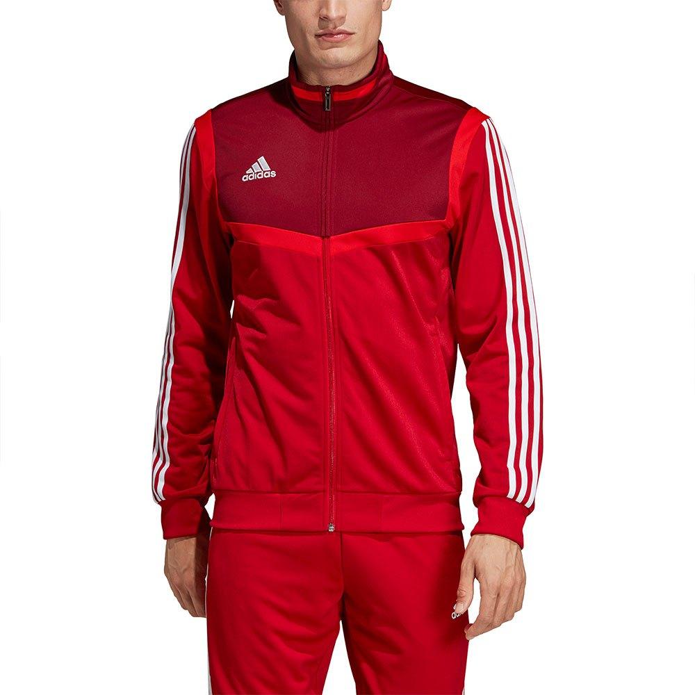 Dettagli su Adidas Tiro 19 Pes Jacket Regular Rosso T74755 Felpe Uomo Rosso , Felpe adidas