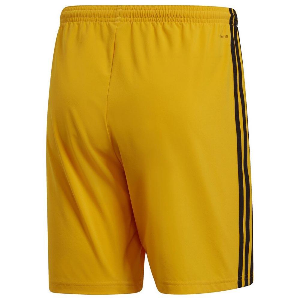 pantaloni adidas gialli