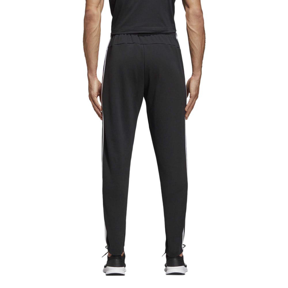 adidas Essentials 3 Stripes Tapered French Terry Hose Herren