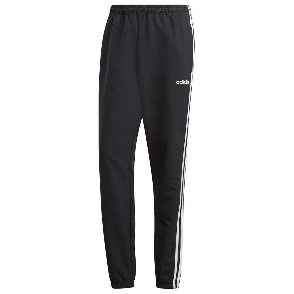 Adidas Essentials 3 Stripes Wind Pants Short M Black / White