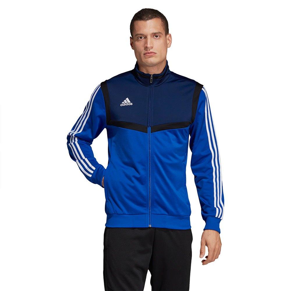 Dettagli su Adidas Tiro 19 Pes Jacket Regular Blu T74958 Giacche Uomo Blu , Giacche adidas