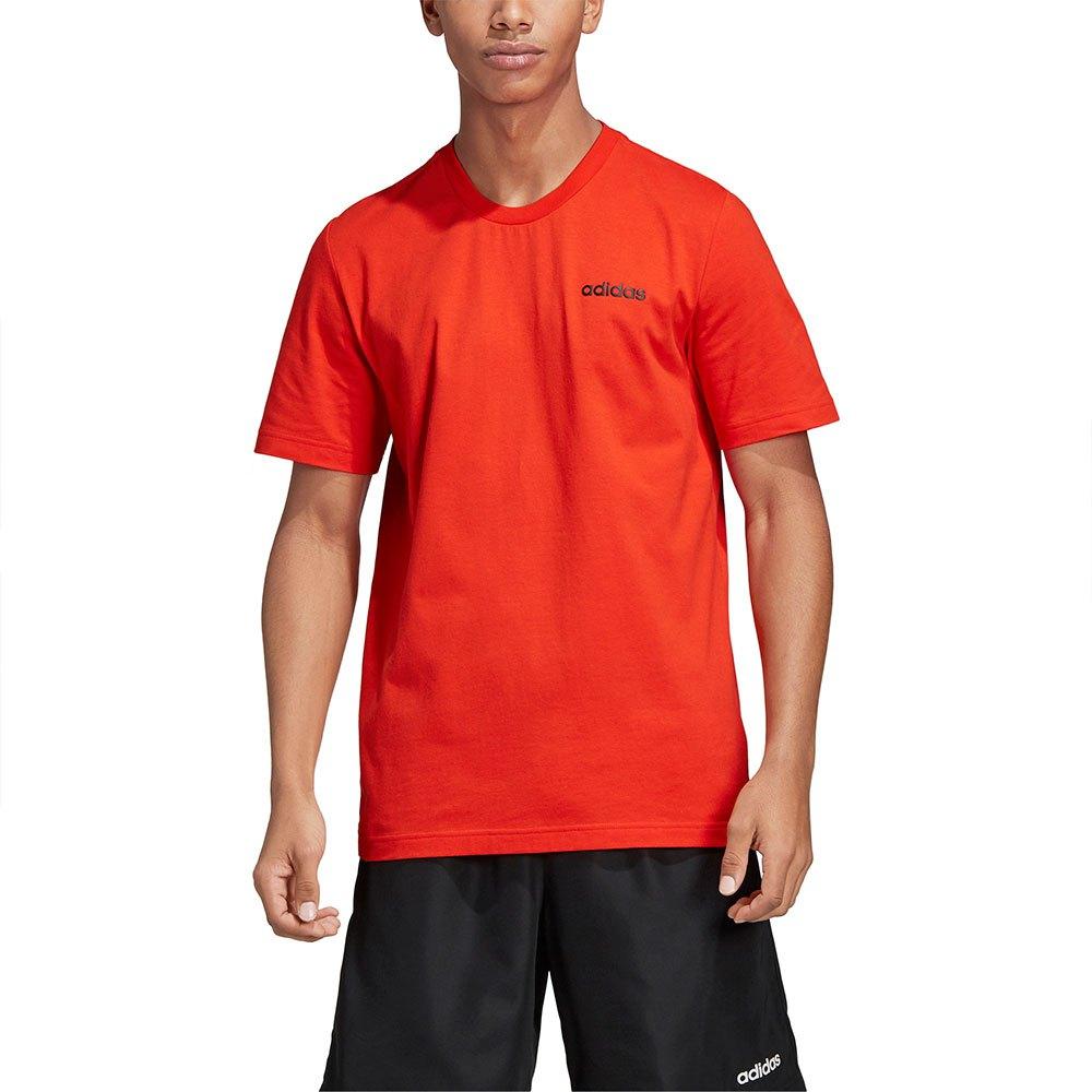 Adidas T-shirt Manche Courte Essentials Plain XS Active Red