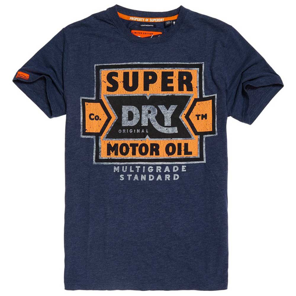 vêtements homme t shirts superdry heritage classic lite. t shirt léger heritage classic superdry homme. t shirt léger à col ras du c