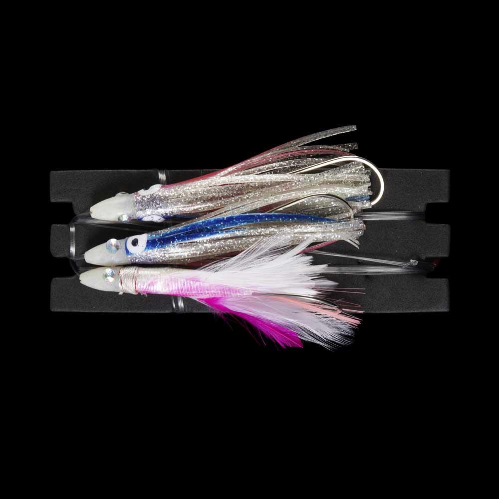 X-way Crystal Jig Double Skirt+feather Multicolor , Señuelos X-way X-way X-way , náutica a02d34