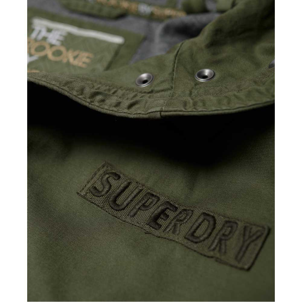 Superdry Rookie Bonded verde , Cappotti e parka Superdry Superdry Superdry , moda 5b9a2f