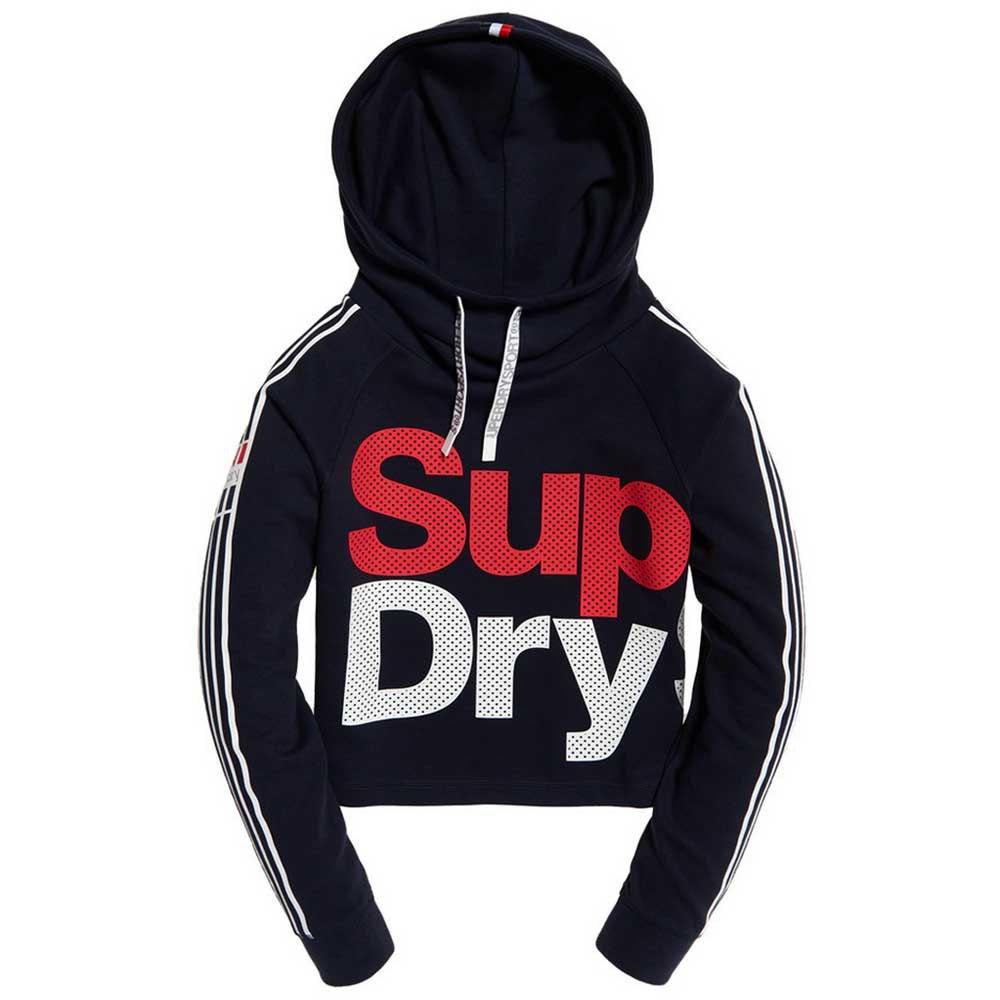 Superdry Athletico Crop bluee , Sweatshirts and Hoodies Superdry , fitness